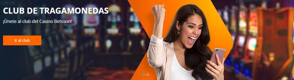Regístrate en Betsson Casino Perú