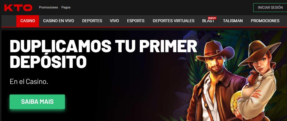 Regístrate en KTO Casino Perú para divertirte en las slots
