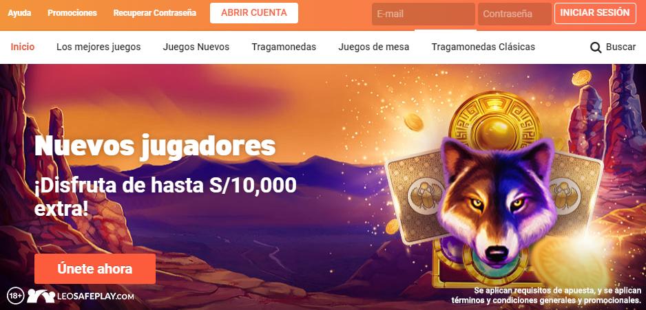 Diviértete en LeoVegas Perú
