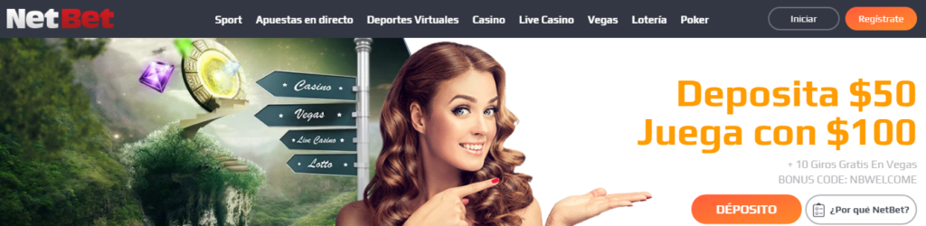 Diviértete en NetBet Casino Perú