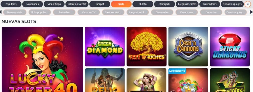Juega y gana en NetBet Casino