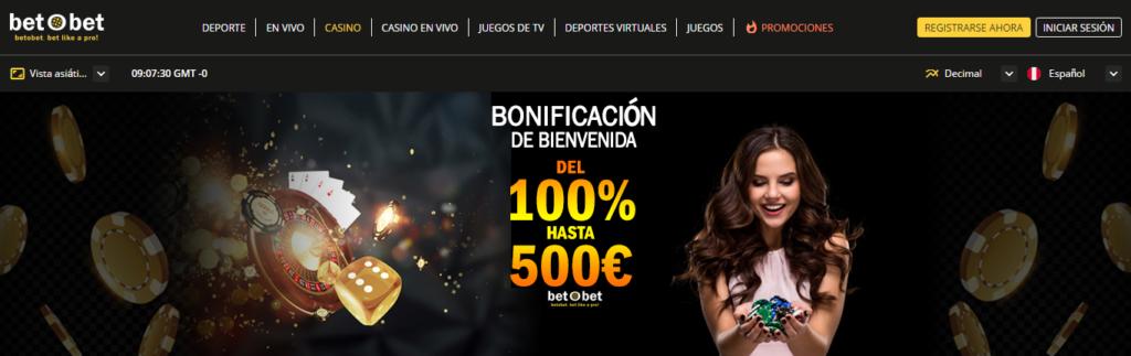 Regístrate en Betobet Perú para ganar jugando en las slots online