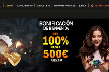 Bono de bienvenida betobet casino Perú